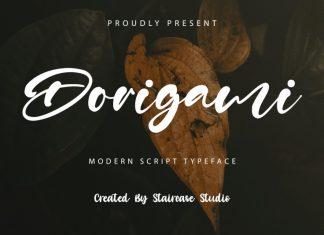 Dorigami Script Font