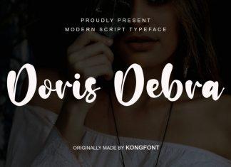Doris Debra Script Font