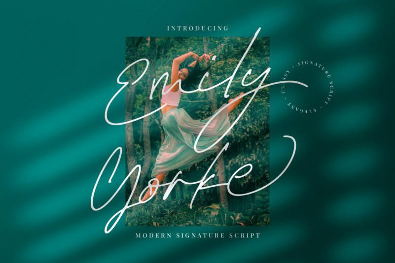 Emily Yorke Handwritten Font