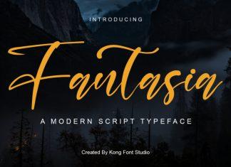 New Fantasia Script Font