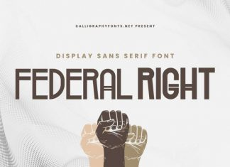 Federal Right Font