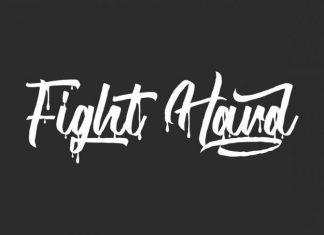 Fight Hard Brush Font