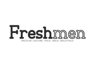 Freshmen Serif Font