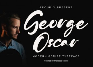 George Oscar Script Font
