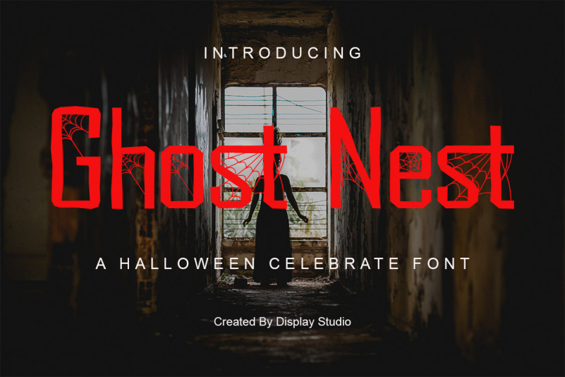 Ghost Nest Display Font
