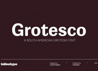 Grotesco Sans Serif Font