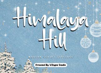 Himalaya Hill Script Font