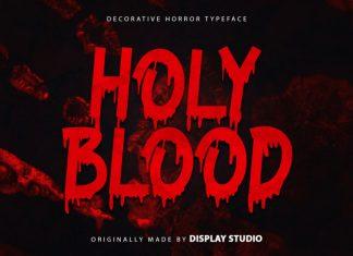 Holy Blood Display Font
