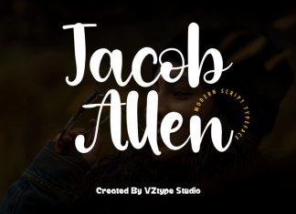 Jacob Allen Script Font