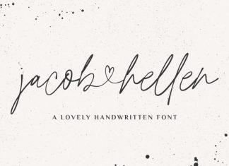 Jacob & Hellen Script Font