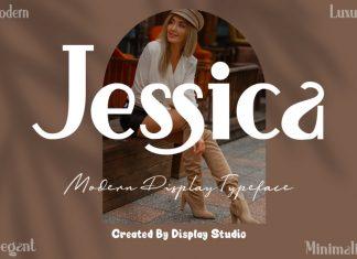 Jessica Display Font