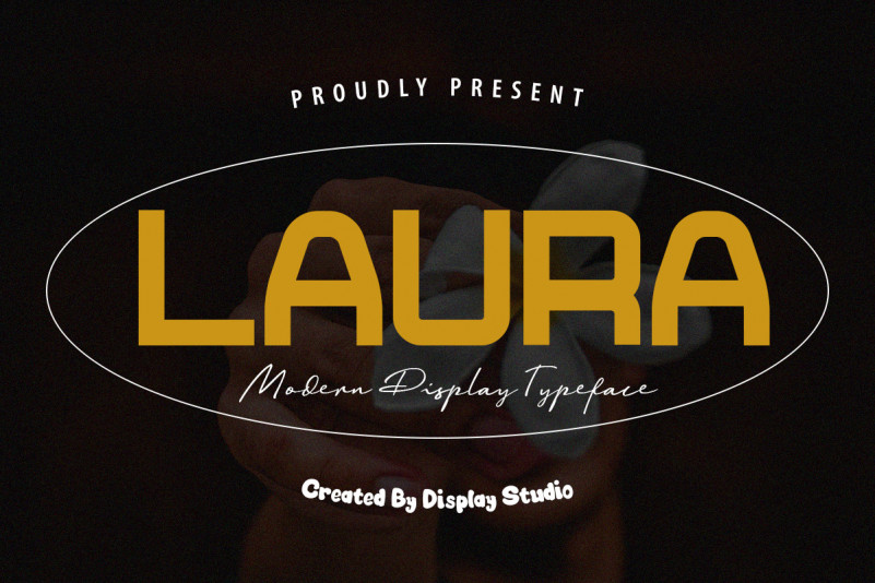 LAURA Display Font