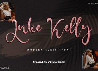 Luke Kelly Script Font
