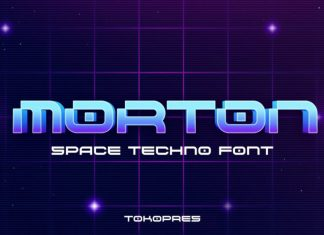 Morton Display Font