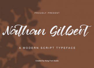 Nathan Gilbert Script Font