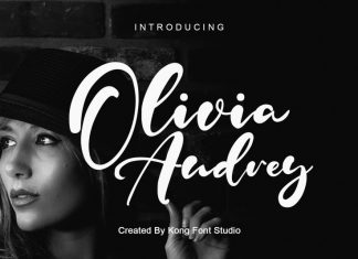 Olivia Audrey Script Font