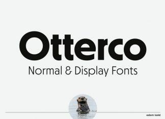 Otterco Sans Serif Font