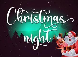 Christmas Style Script Font