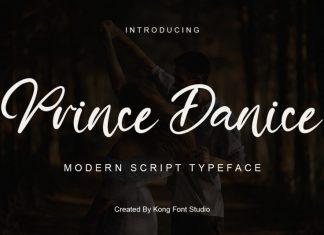 Prince Danice Script Font