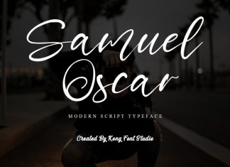 Samuel Oscar Script Font
