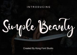 Simple Beauty Script Font