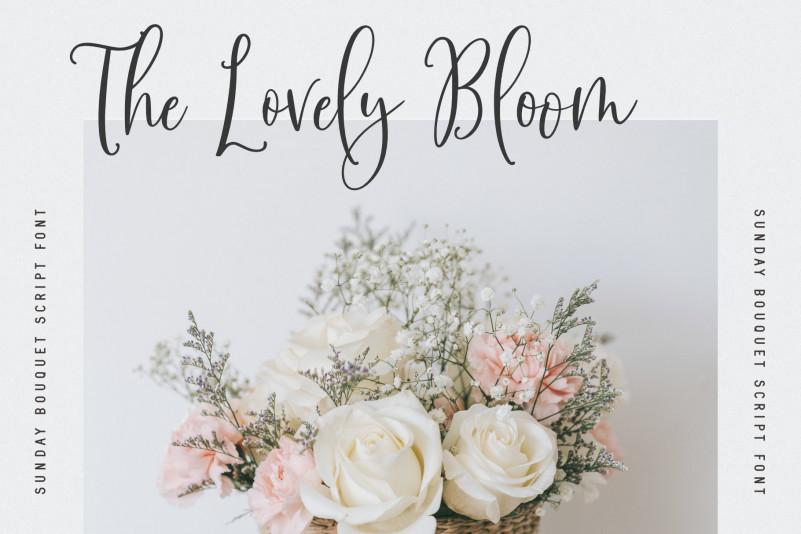 Sunday Bouquet Script Font