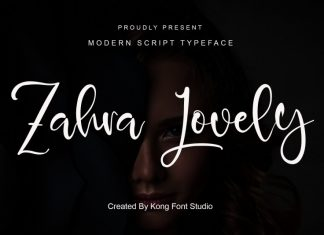 Zahra Lovely Script Font
