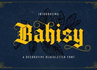 Bahisy Blackletter Font