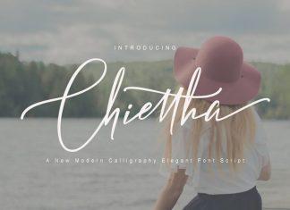 Chiettha Script Font