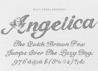 Angelica Script Typeface