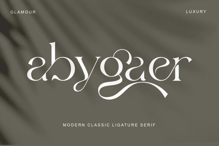 Abygaer Serif Font