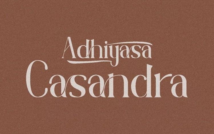 Adhiyasa Serif Font