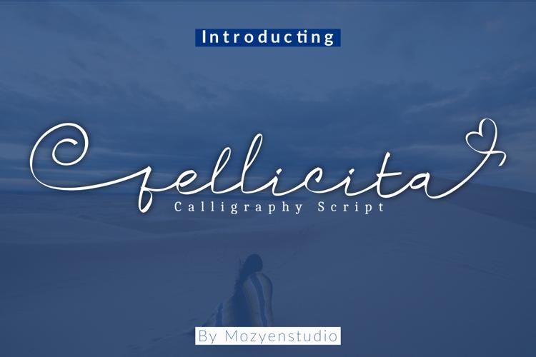 Fellicita Script Font