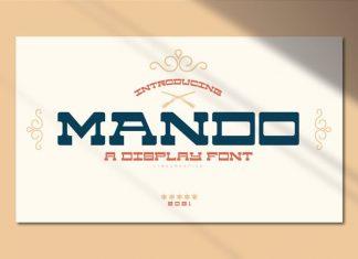 Mando Slab Serif Font