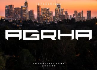 Agrha Display Font