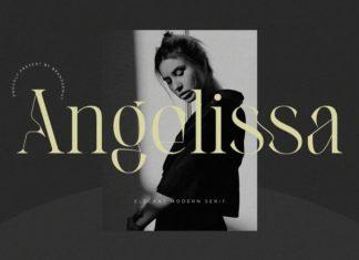 Angelissa Serif Font