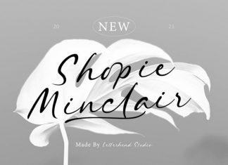 Shopie Minclair Script Font