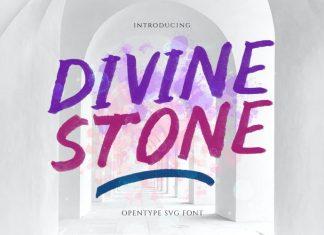 Divine Stone Brush Font