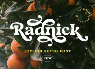 Radnick Serif Font