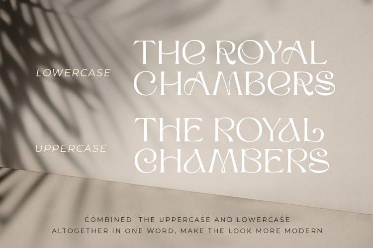 The Royal Chambers Display Font