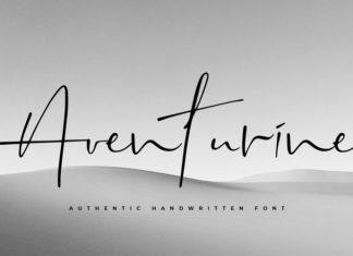 Aventurine Handwritten Font