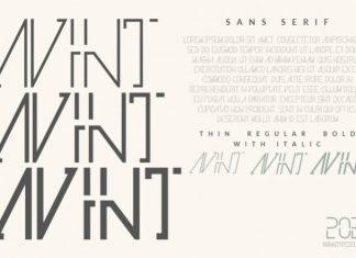 Avint Display Font