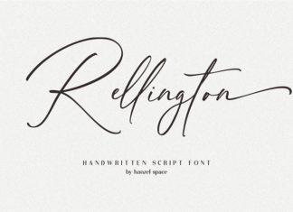 Rellington Script Font