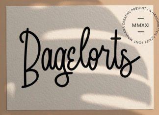 Bagelorts Handwritten Font