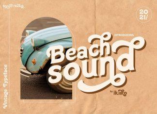 Beach Sound Display Font