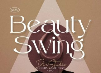 Beauty Swing Serif Font