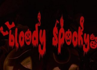 Bloody Spooky Display Font