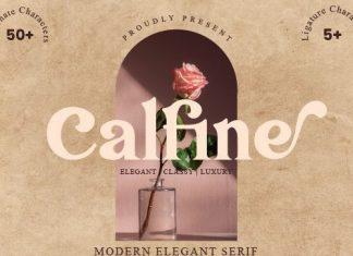 Calfine Serif Typeface