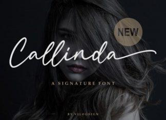 Callinda Script Font