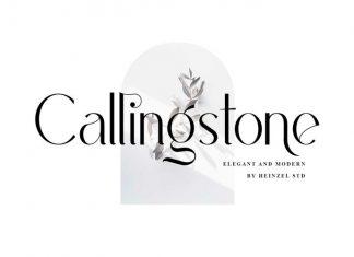 Callingstone Sans Serif Font